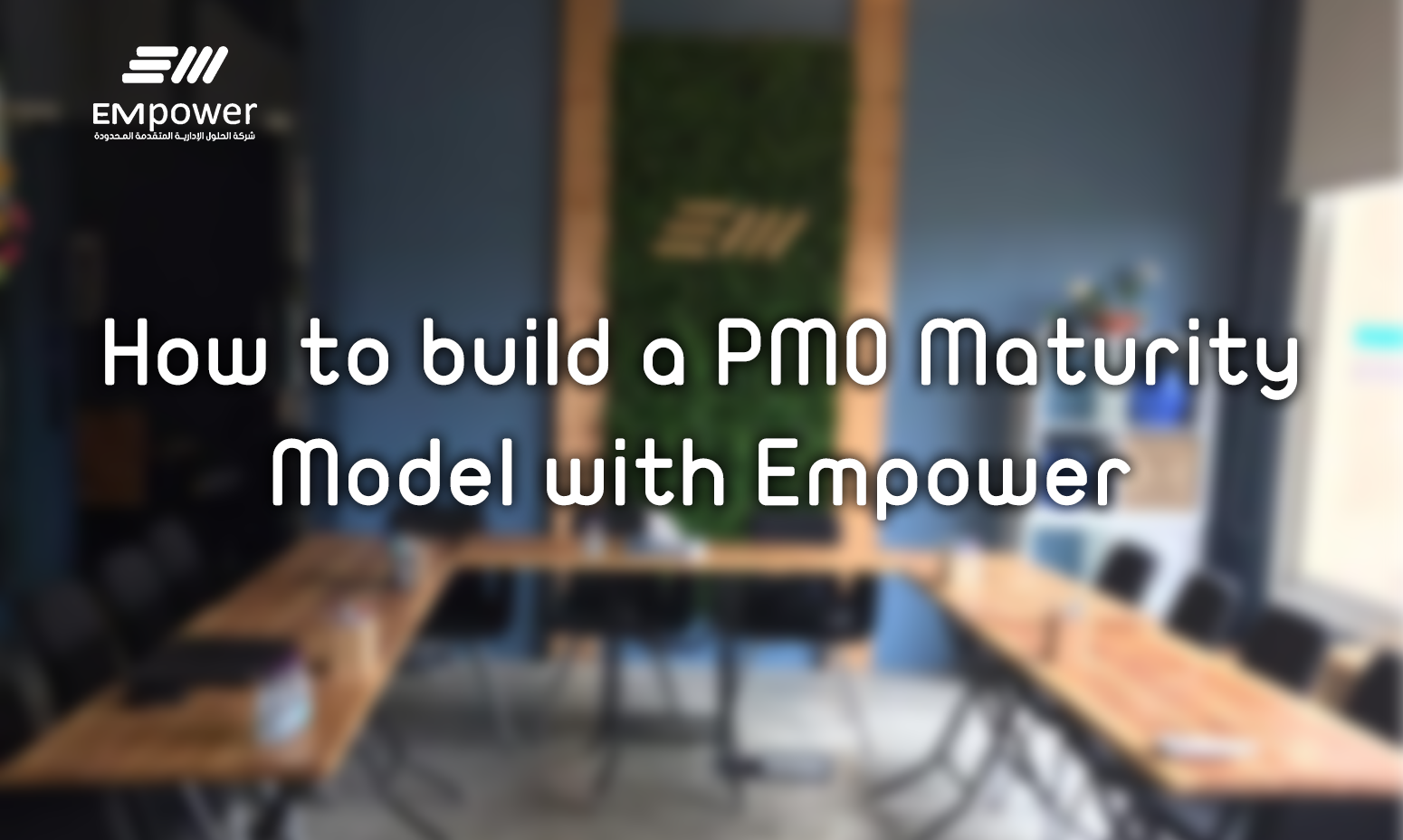 How to build a project management office maturity model with Empower